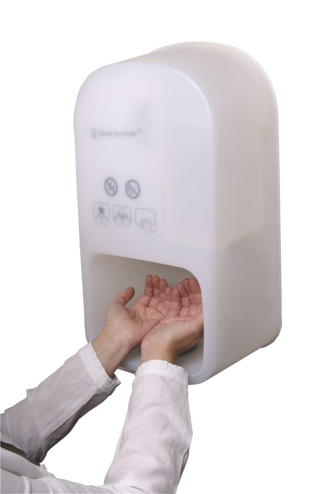 dávkovač na dezinfekciu